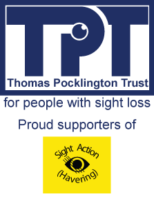 Pockington Trust proud supporters of Sight action havering