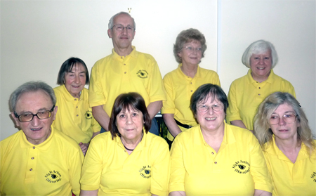 Picture of volunteers at Sight Action (Havering)